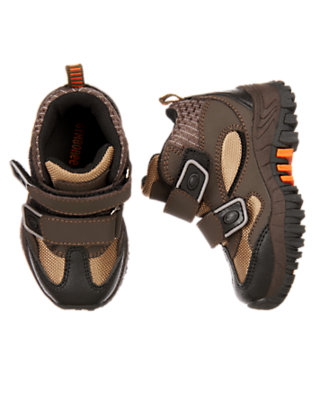 Toddler Boys Chocolate Brown Hiking Boot by Gymboree