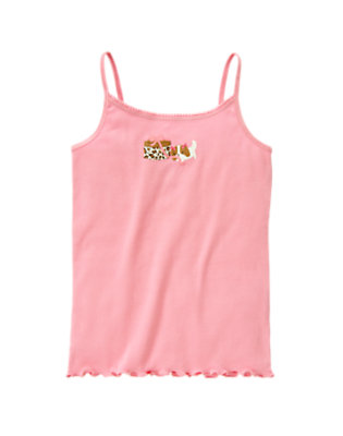 Girls Candy Pink Dog Present Cami by Gymboree