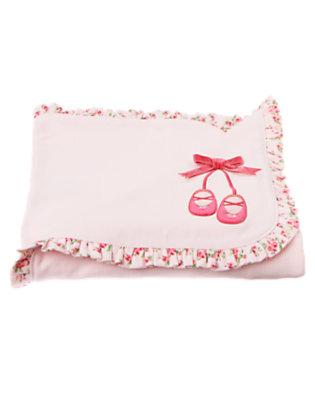 Softly Pink Ballet Slipper Blanket by Gymboree