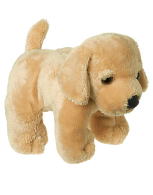 Toddler Girls Puppy Brown Puppy Plush Toy by Gymboree