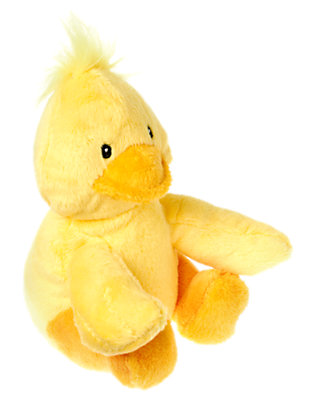 Toddler Boys Duck Yellow Duck Plush Toy by Gymboree