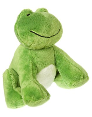 Toddler Boys Frog Green Frog Plush Toy by Gymboree