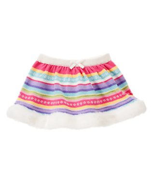 Penguin Pink Fair Isle Fair Isle Sweater Skirt by Gymboree