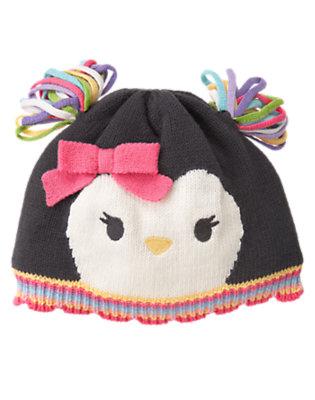 Penguin Grey Penguin Sweater Hat by Gymboree