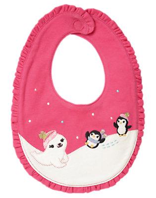 Penguin Pink Penguin Bib by Gymboree