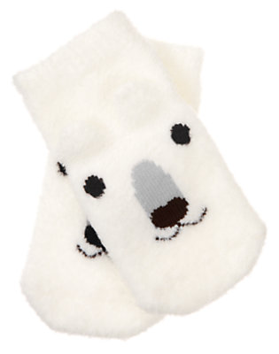Ivory Polar Bear Sock by Gymboree