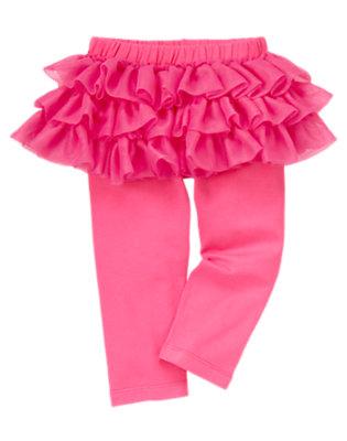 Toddler Girls Pirouette Pink Tutu Legging by Gymboree