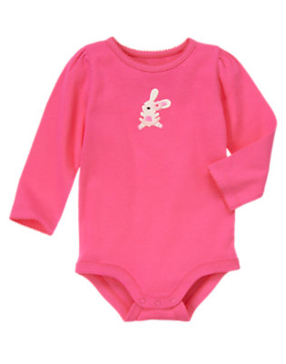 Pirouette Pink Dancing Bunny Bodysuit/Tee Shirt by Gymboree
