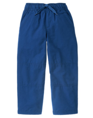Royal Blue Microfleece Lined Active Pant by Gymboree