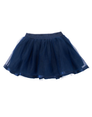 Toddler Girls Princess Blue Tutu Skirt by Gymboree