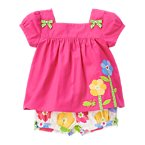 Flower Grasshopper Two-Piece Set