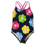 Flower One-Piece Swimsuit