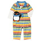 Penguin Double Sleeve Polo One-Piece
