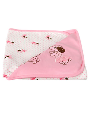 Baby Playful Pink Puppy Tutu Blanket by Gymboree