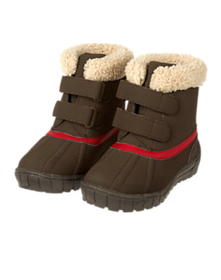 Dark Brown Cold Weather Boot by Gymboree