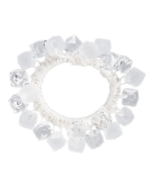 Girls Clear Cube Bauble Bracelet by Gymboree