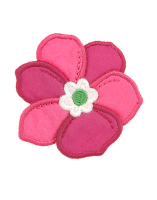 Toddler Girls Daisy Pink Flower Hair Clip by Gymboree