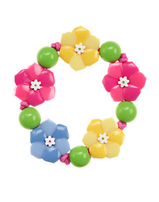 Girls Sunny Yellow Flower Bracelet by Gymboree