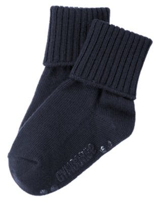 Midnight Blue Foldover Sock by Gymboree