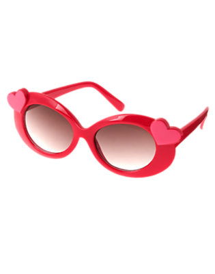 Girls Valentine Red Heart Sunglasses by Gymboree