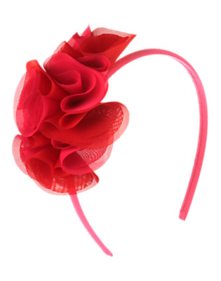 Sweetheart Pink Flower Corsage Headband by Gymboree