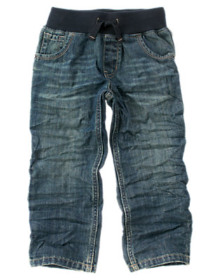 Boys Denim Pull-On Jean by Gymboree