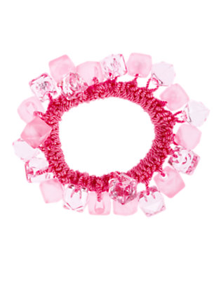 Girls Pirouette Pink Cube Bauble Bracelet by Gymboree