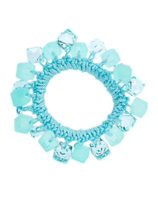 Girls Winter Blue Cube Bauble Bracelet by Gymboree