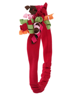 Reindeer Red Curly Fruffle by Gymboree
