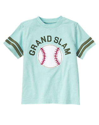 Ballpark Blue Grand Slam Baseball Tee by Gymboree