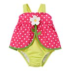 Daisy Dot One-Piece Swimsuit