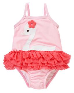Swan Tutu One-Piece Swimsuit