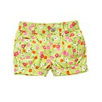 Button Pocket Blossom Short