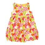 Bow Flower Bubble Dress