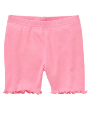 Toddler Girls Hydrangea Pink Bike Short by Gymboree
