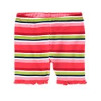 Stripe Bike Short