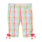 Flower Bow Gingham Pant