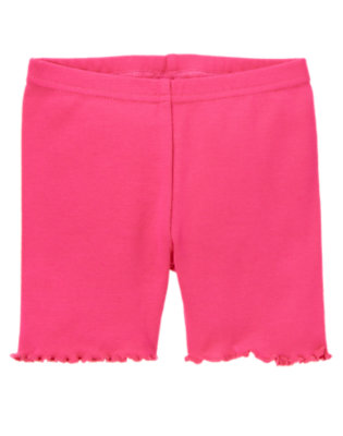Toddler Girls Zinnia Pink Bike Short by Gymboree