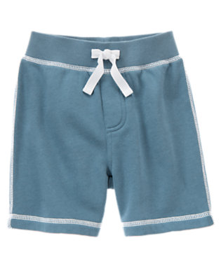 Anchor Blue Fleece Short by Gymboree