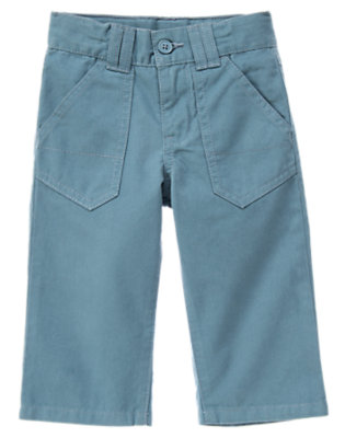 Anchor Blue Pocket Twill Pant by Gymboree