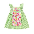 Gingham Apron Dress