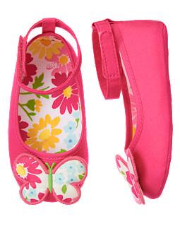Butterfly Crib Shoe