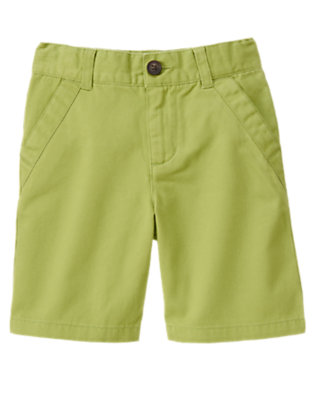 Spring Green Chino Short by Gymboree