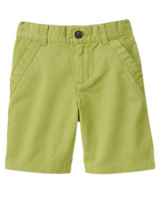 Boys Spring Green Chino Short by Gymboree