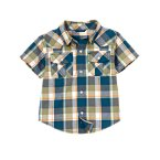 Snap Pocket Plaid Shirt
