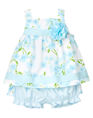 Blue Blossom Blossom Two-Piece Set by Gymboree