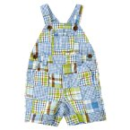Plaid Patchwork Shortall