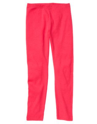 Poppy Pink Legging by Gymboree