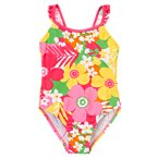 Tropical Flower One-Piece Swimsuit