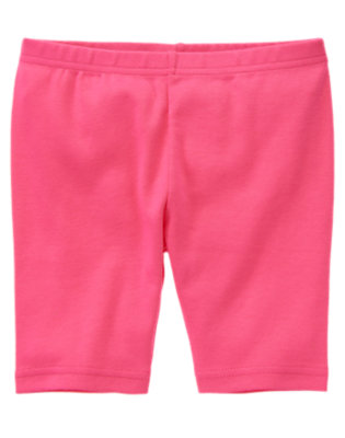Girls Tulip Pink Basic Bike Short by Gymboree